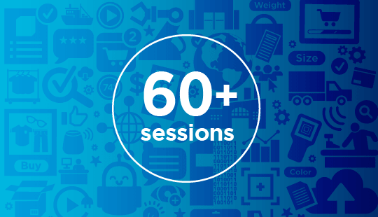 60+ sessions