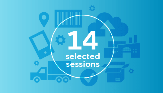 14 selected sessions